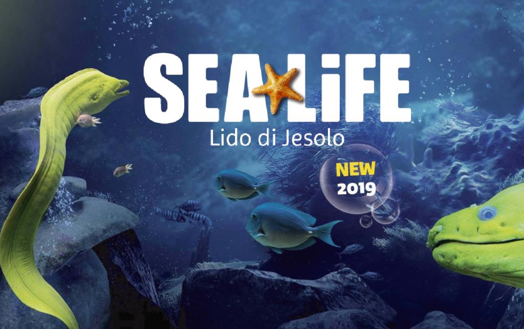 Locandina Sea Life Jesolo