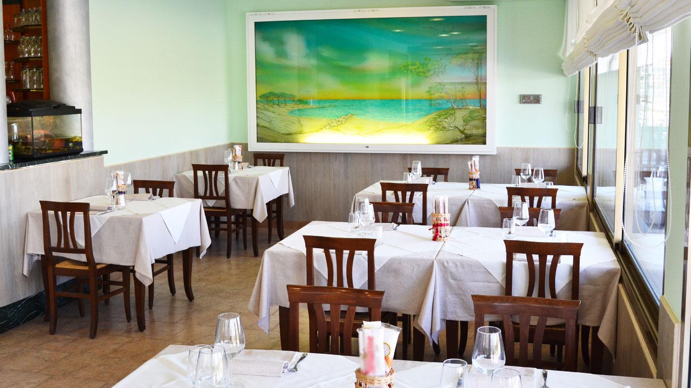 Grifone, interno sala da ristorante
