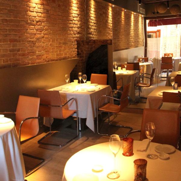 sala con tavoli ristorante Il Ridotto