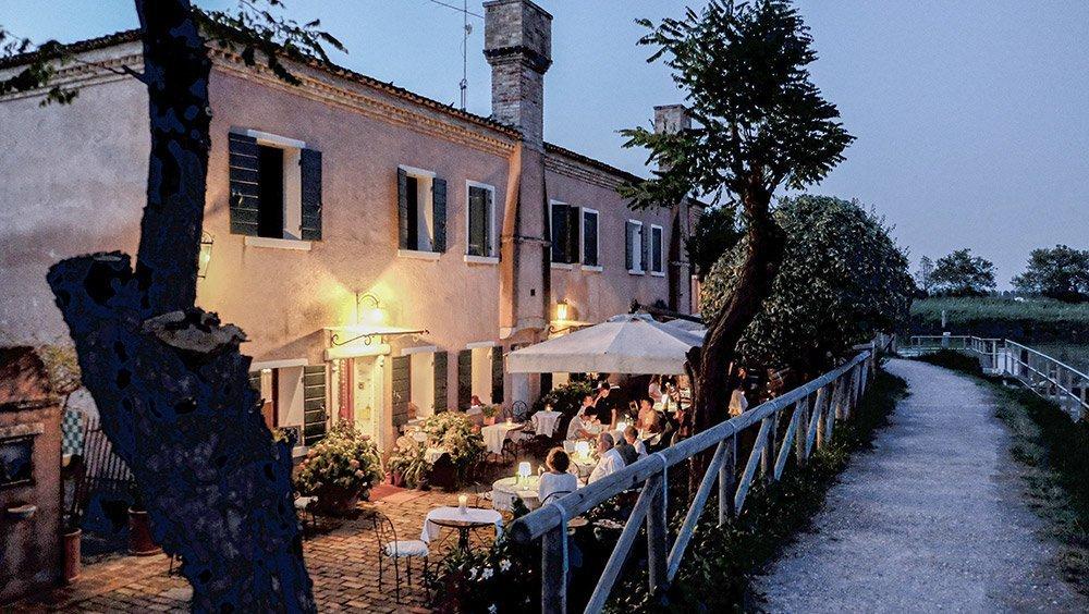 Locanda alle Porte 1632 vista esterna del ristorante