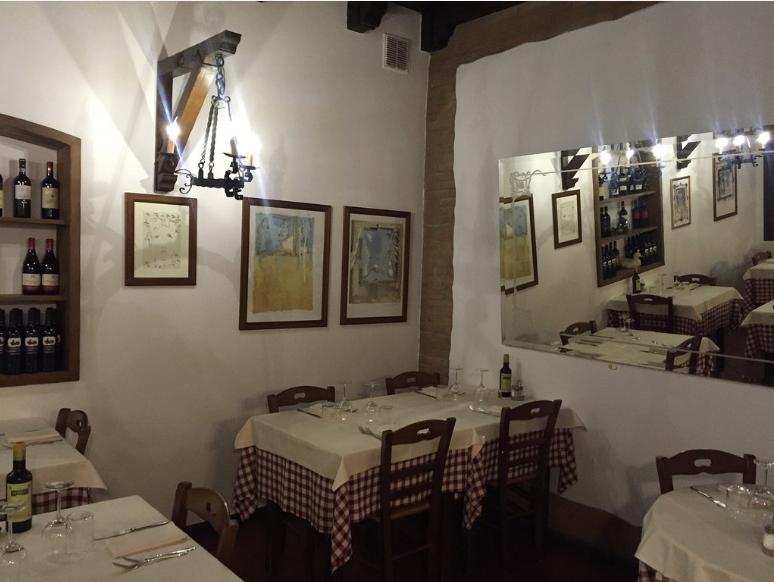 La Taverna, interno sala ristorante