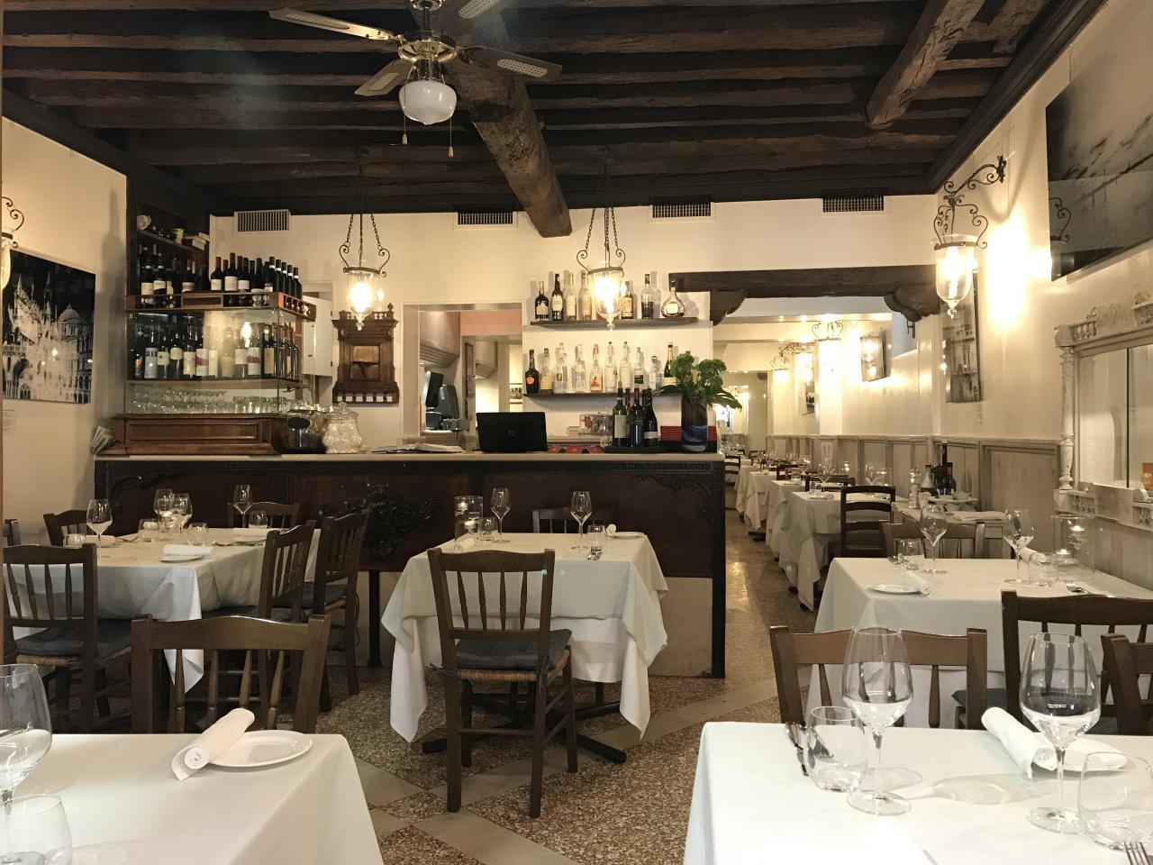 sala ristorante Vecio Fritolin