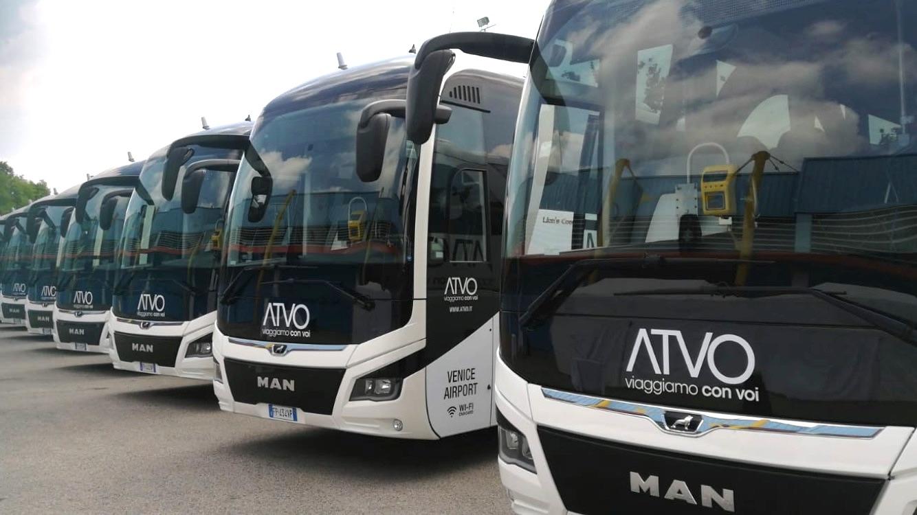 Autobus per raggiungere Venezia partendo da Jesolo