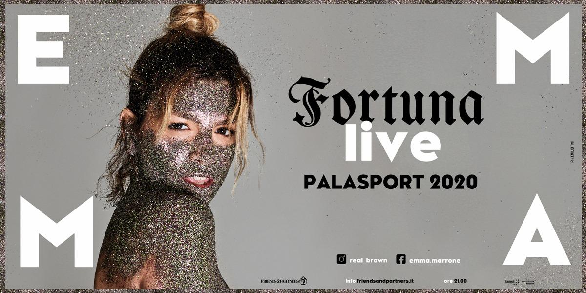 Concerto di Emma Marrone, Fortuna Live