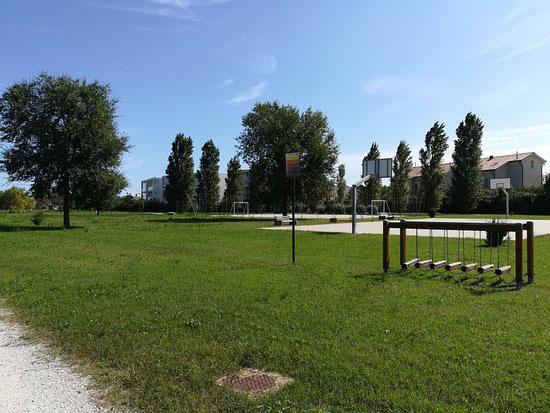 Parco Pegaso con giochi per bambini