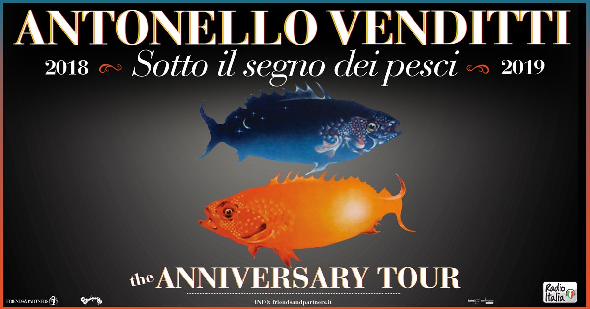 Concerto Antonello Venditti. the Anniversary Tour