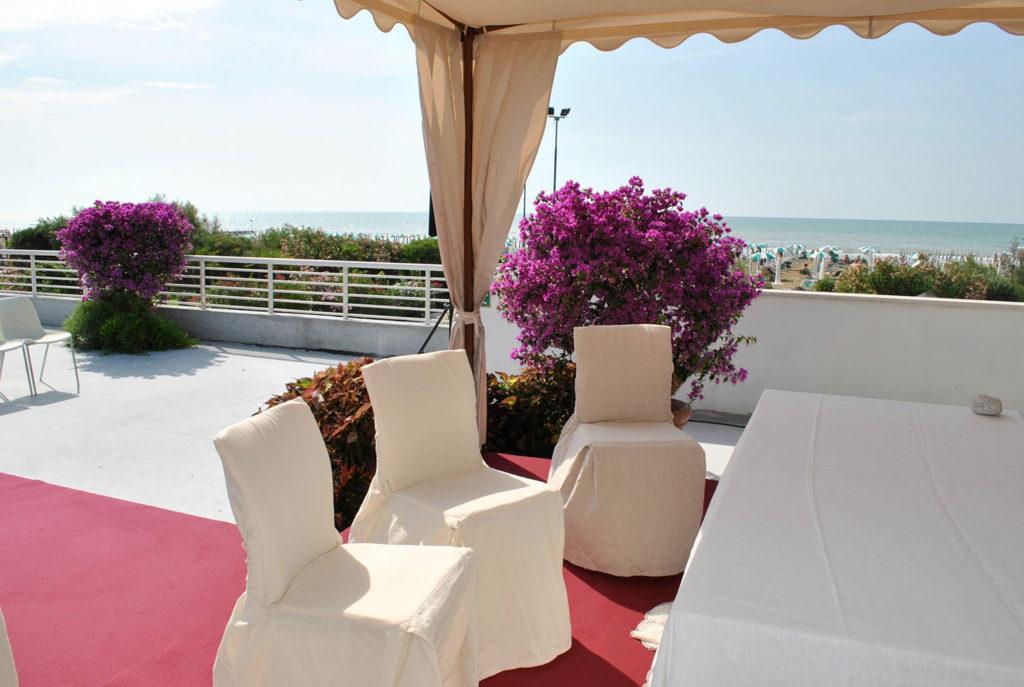 wedding jesolo terrazza vista mare