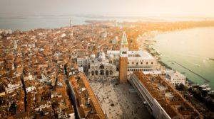 Piazza San Marco, vista dall'alto