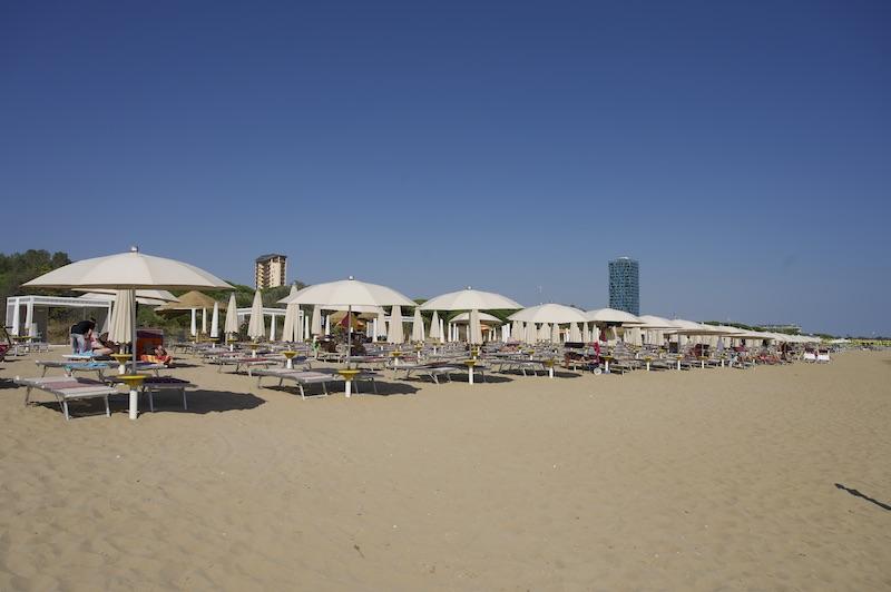 Lido di Jesolo Consorzio relax beach