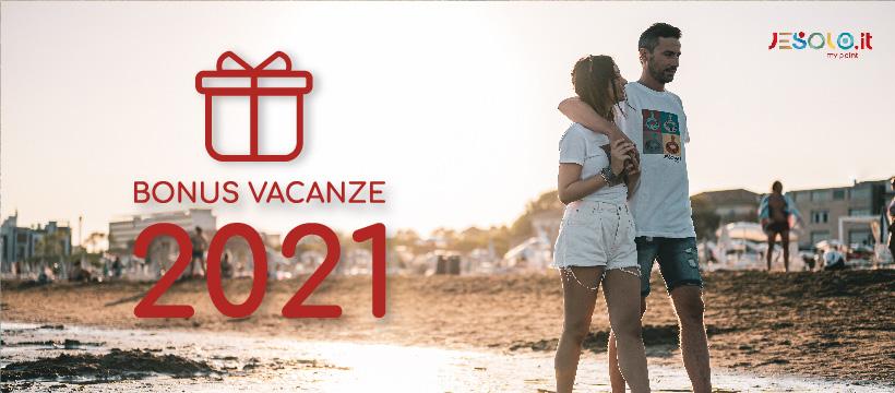 Jesolo: bonus vacanze 2021